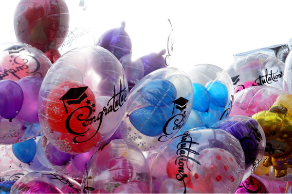 Planning ahead, get Grad Party balloons can get as simple or as amazing as you want.