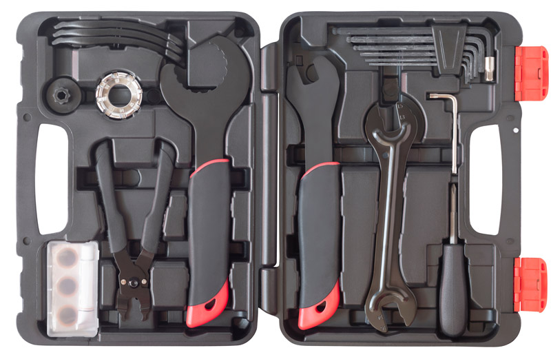bike repair kits are some fantastic graduation gifts to go with a campus bike