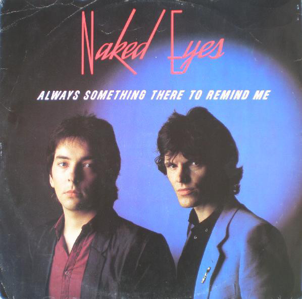 Naked Eyes album cover one of my old favorites!
